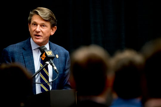 Randy Boyd says he plans to address several areas at UT Knoxville, including filling multiple administrative positions.