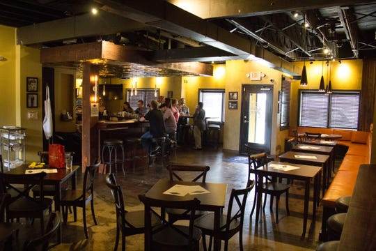 The roughly 1,600-square-foot bar The Corner Lounge officially opened Sept. 25, 2018, in the Happy Holler neighborhood.