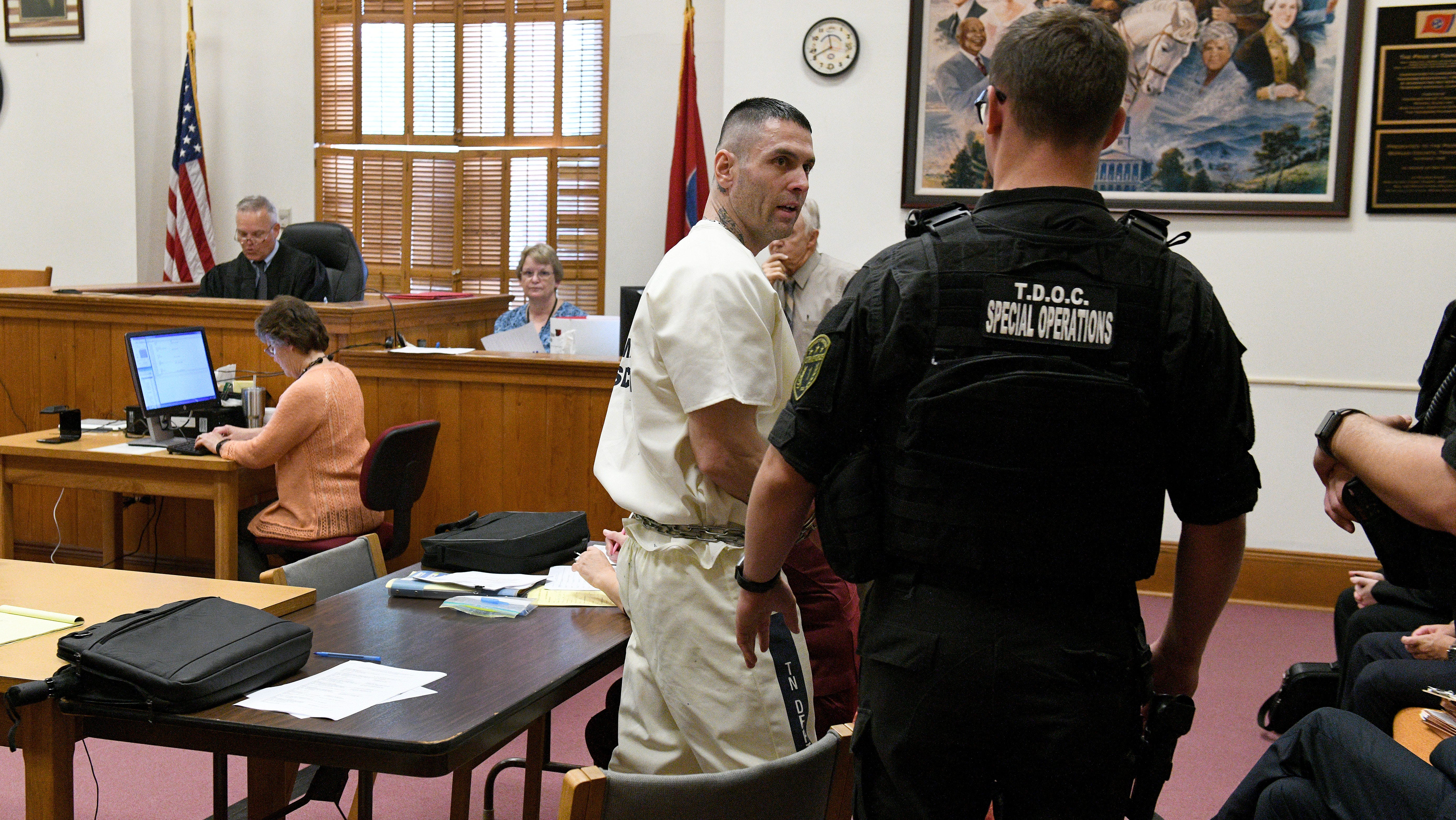 Inmate Arraigned On Charges Of Escaping Sneaking Back