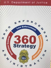 The U.S. Drug Enforcement Administration announced Tuesday that Knoxville will be the 13th city to pilot its comprehensive 360 Strategy to combat opioid abuse and related violent crime.