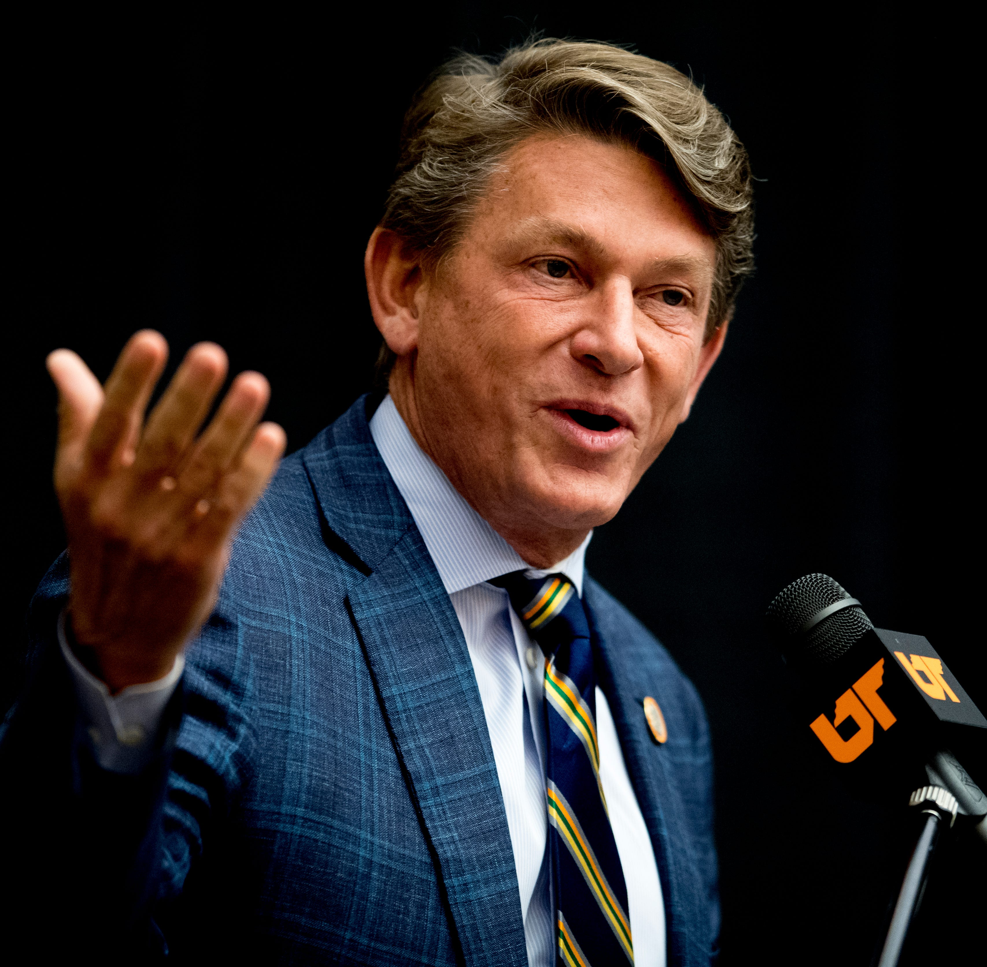 Randy Boyd unanimously approved as University of Tennessee's interim president amid protests