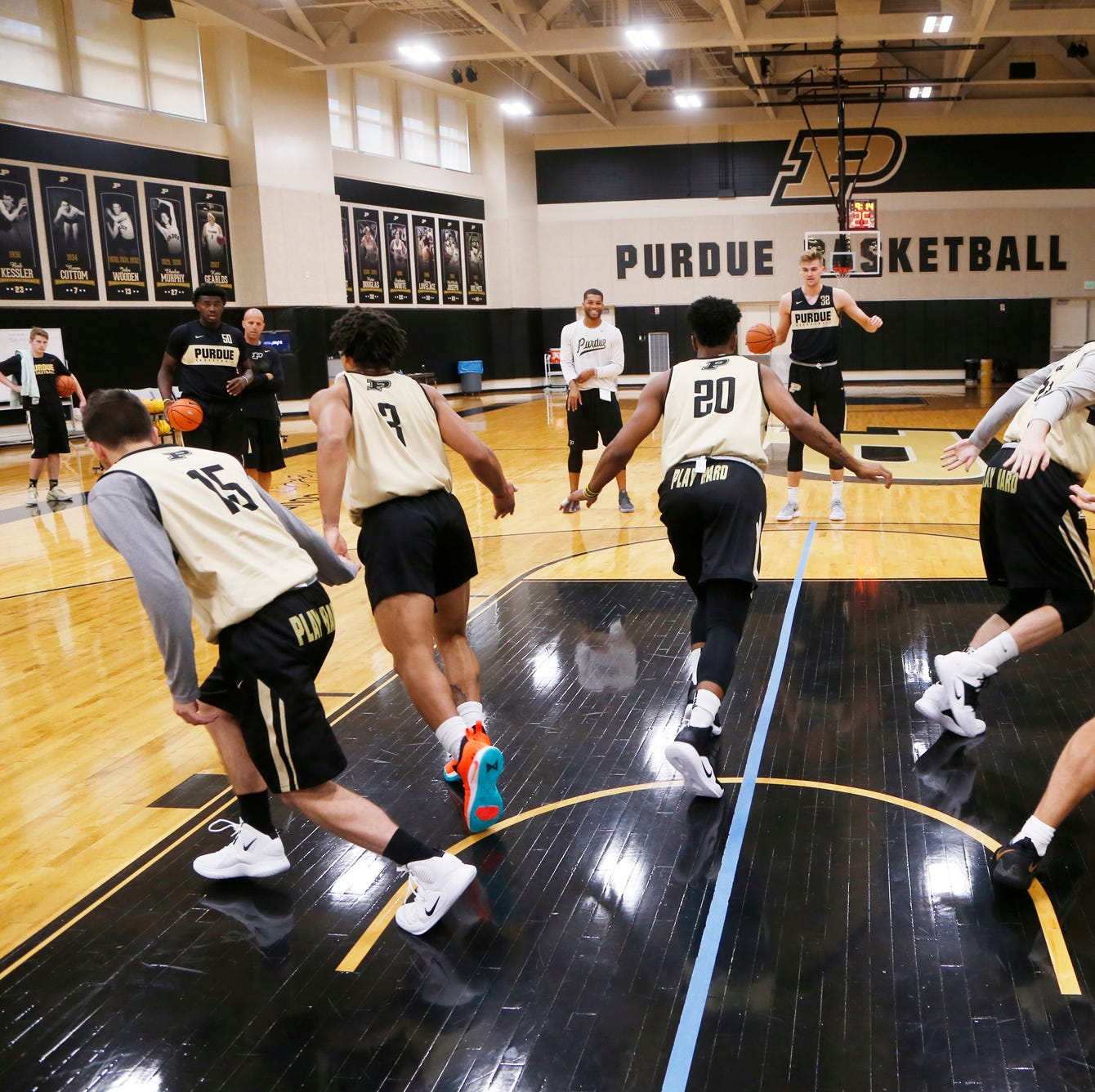 Purdue basketball first practice of 2018-19 | News and notes