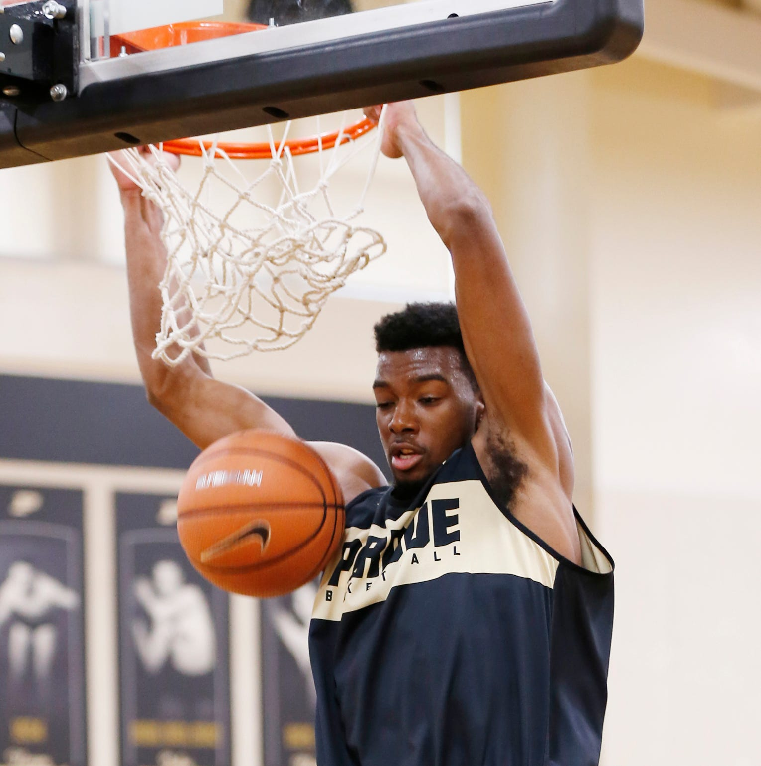 Filling Vincent Edwards' role a three-man battle for Purdue basketball