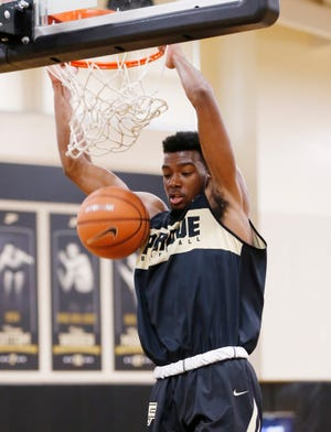 Aaron Wheeler is the most athletic of Purdue's possible power forward options.