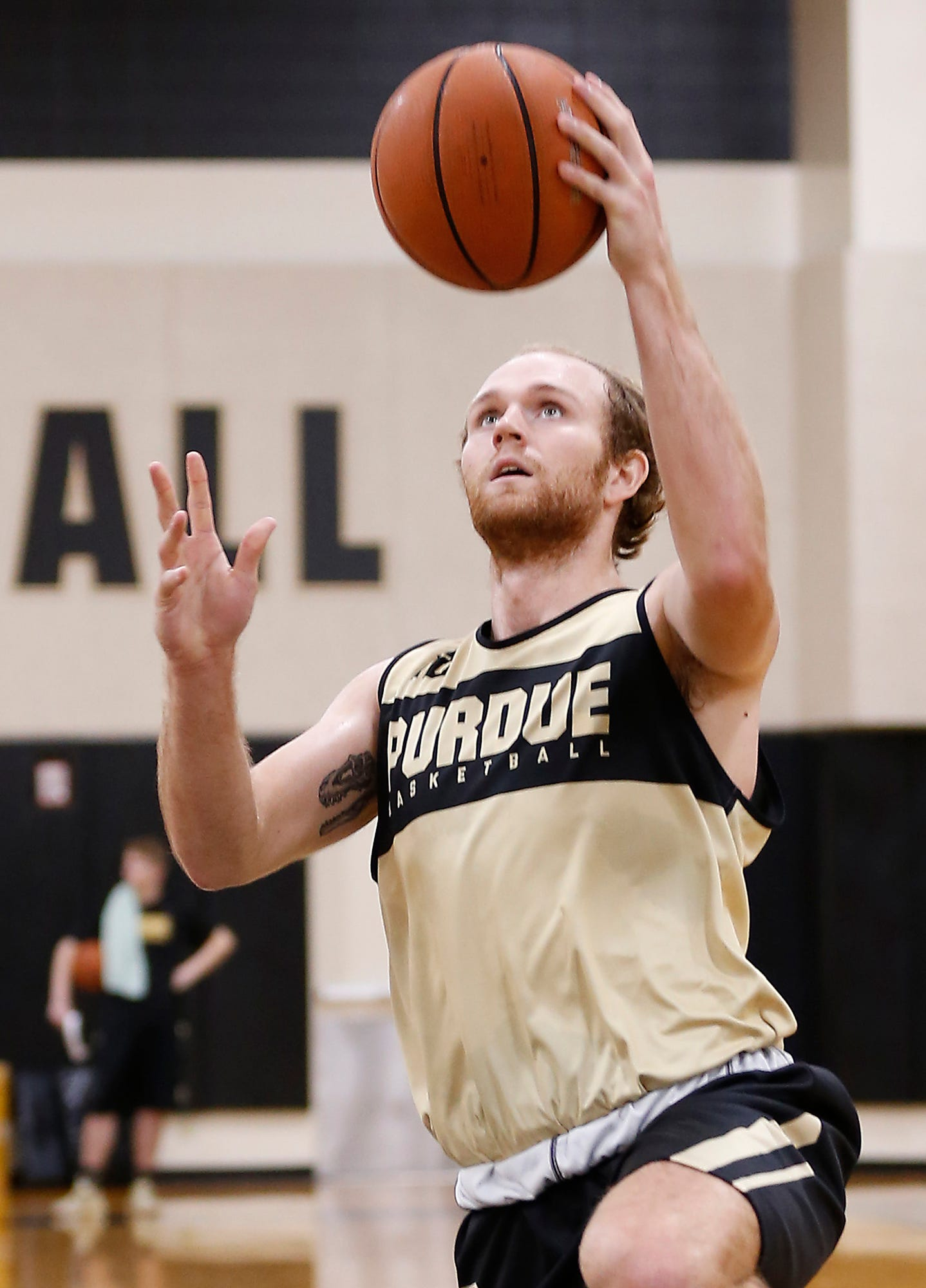 Laf Purdue Men S Basketball Practice