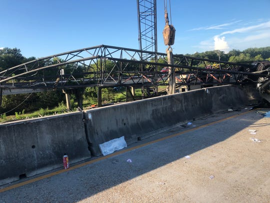 In 2018, a construction crane being used on the Interstate 10 widening project collapsed on a SUV, injuring the driver.