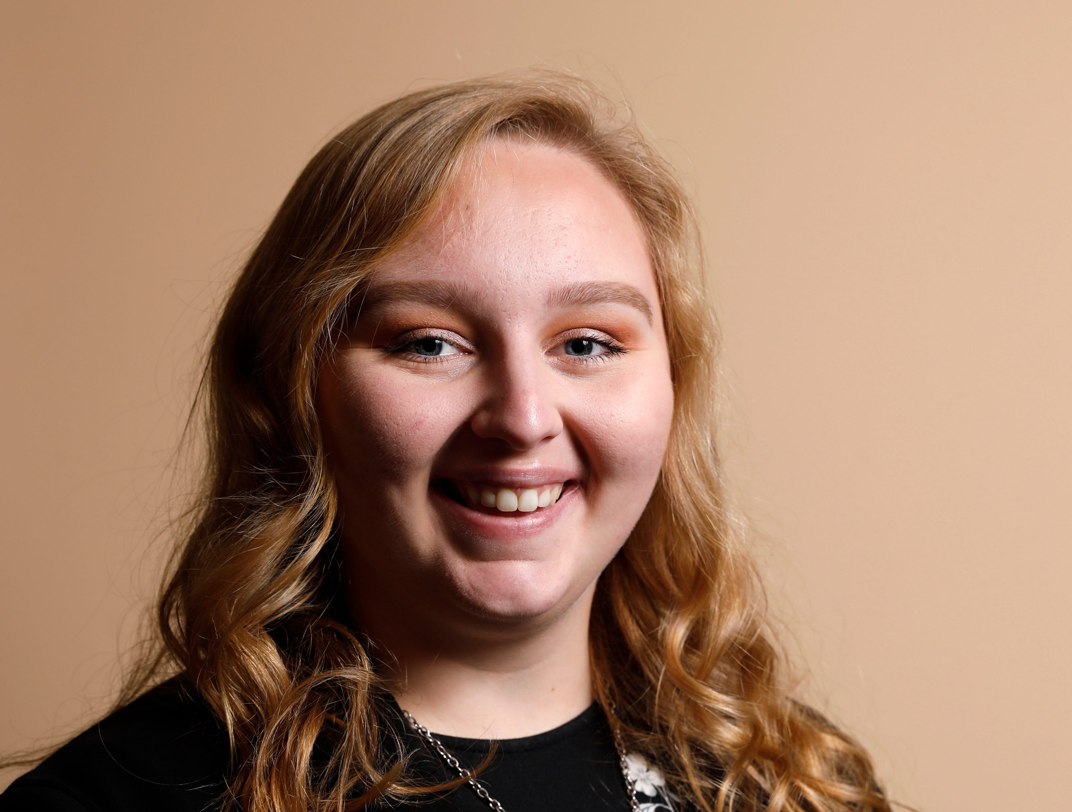 Corinne Somers, 17, daughter of Randy and Deanna Somers. She attends Canal Winchester High School and is a member of Green Extreme 4-H Club.