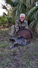 Ray Morris competed his grand slam, by killing a Florida bird in the spring of 2018.