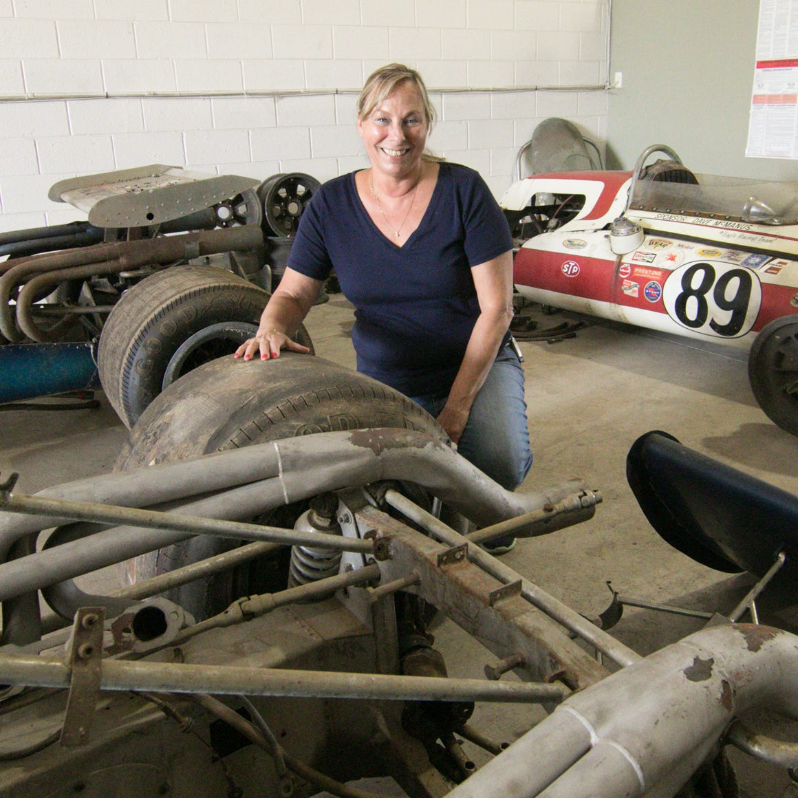 Famed race car driver Jack Conely's vintage cars, engines up for auction