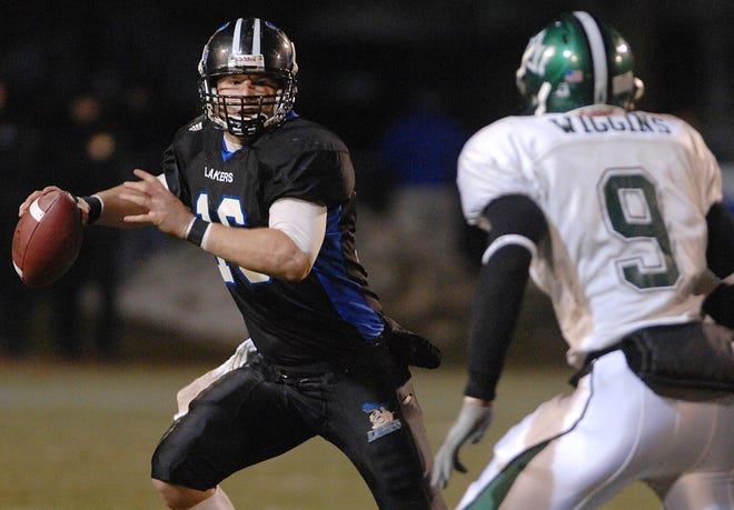 Brighton graduate Cullen Finnerty  was 51-4 at Grand Valley State, winning more games than any quarterback in college football history.