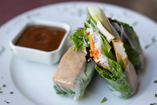 The Summer Rolls at the Pho Cafe on Bardstown. Sept. 20, 2018