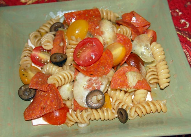 Block party pasta salad