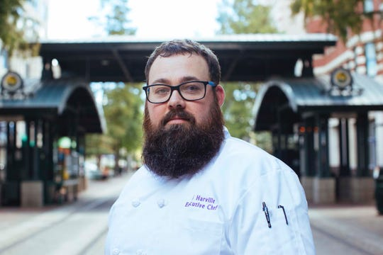 TJ Harville is the new executive chef at Hu. Hotel in downtown Memphis.