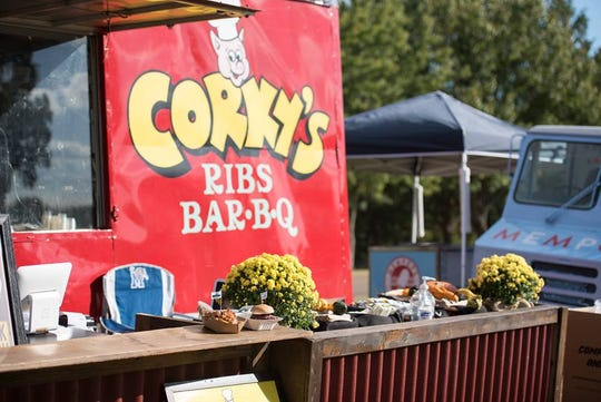 Corky's is one of the many Memphis restaurants and food trucks that will be serving their fare at Mempho Music Festival this weekend.