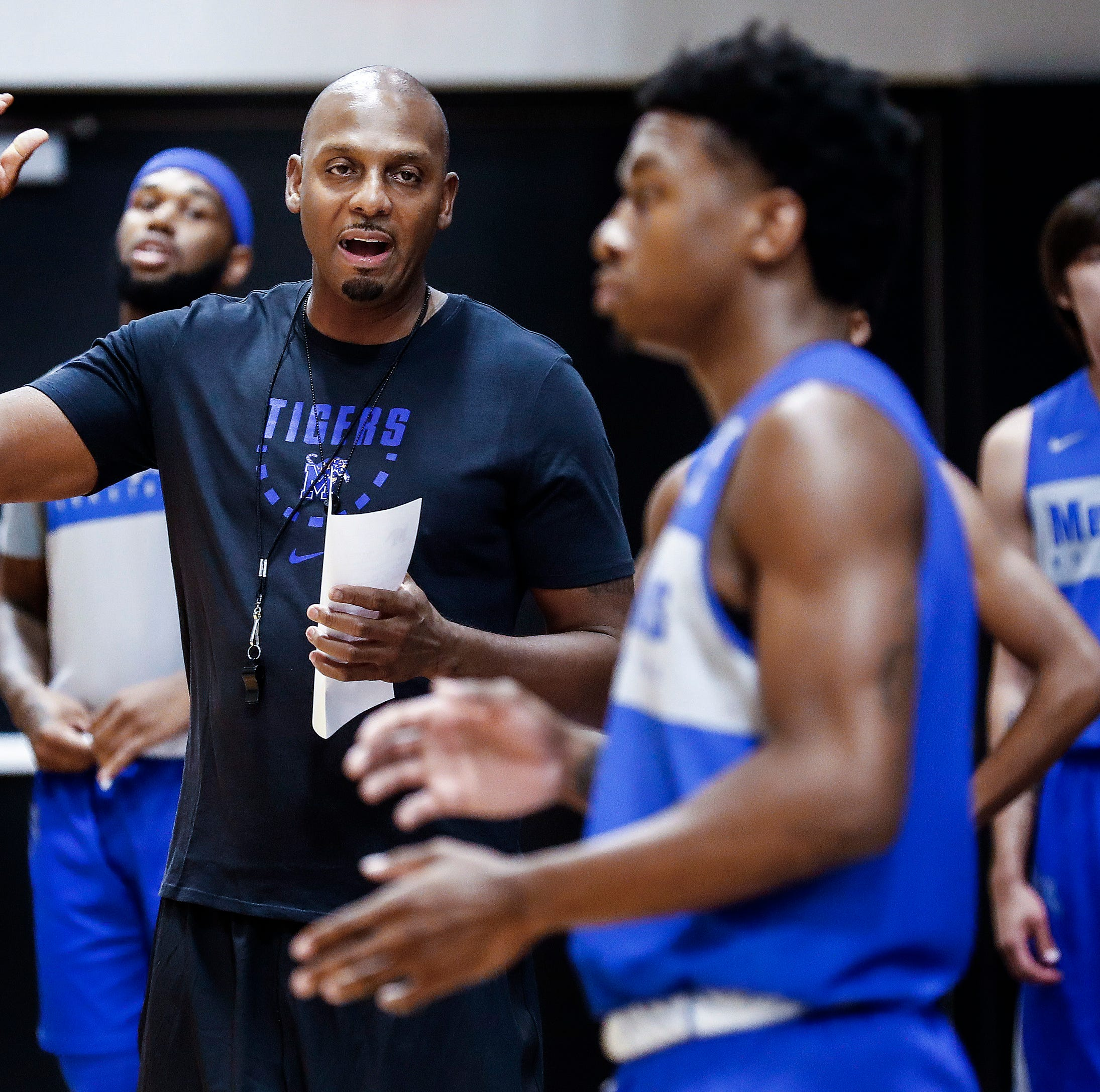 New Memphis Tigers coach Penny Hardaway anxious on first day of basketball practice