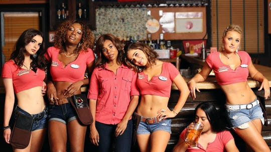 """Regina Hall (third from left) headlines the cast of """"Support the Girls."""""""