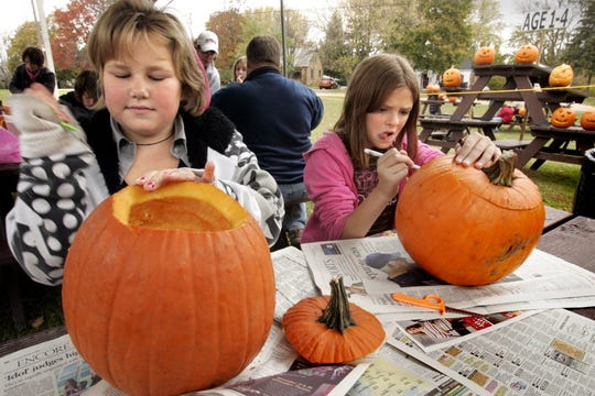 The Hales Corners Lions Club's Pumpkinfest runs from 3 to 8 p.m. Oct. 19 and 2 to 8 p.m. Oct. 20 at Hales Corners Park and Pool.