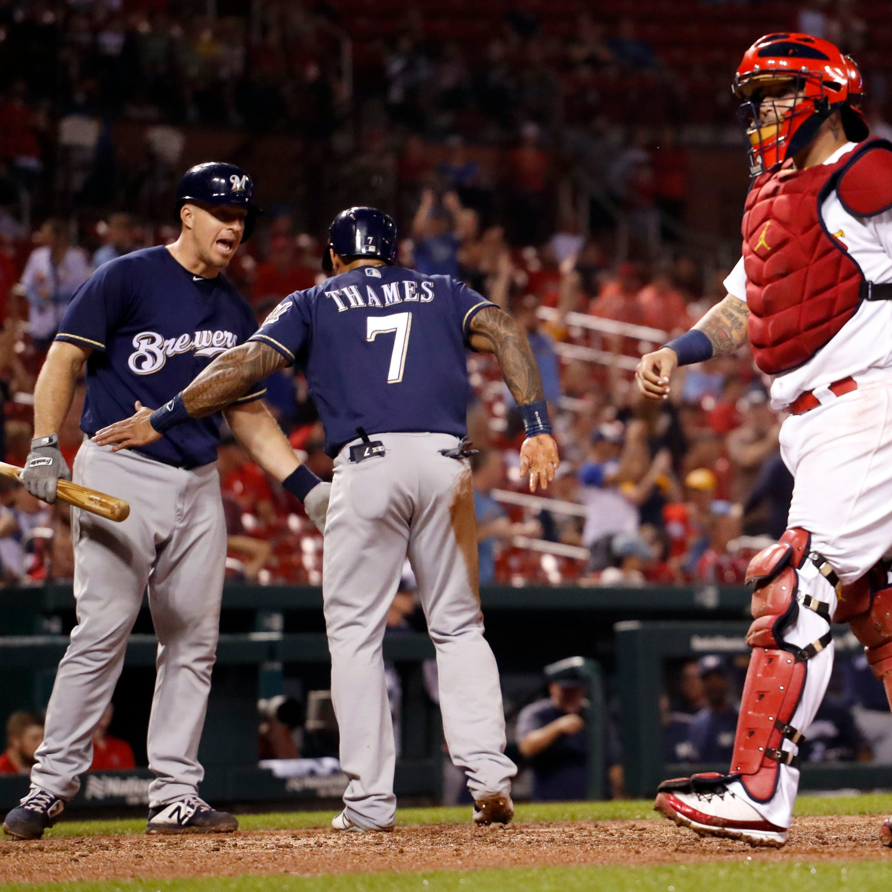 Brewers 6, Cardinals 4: Late runs prove the difference as Brewers pull out huge victory