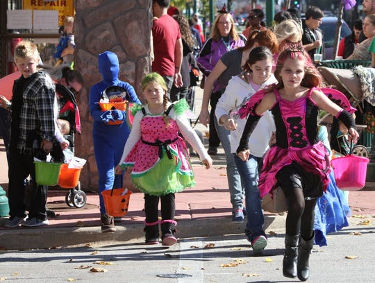 """The Downtown West Allis Business Improvement District is holding its annual """"Downtown Halloween Hunt"""" from 10 a.m. to 1 p.m. Oct. 27."""