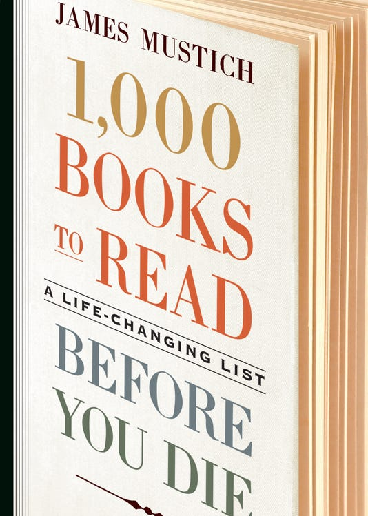 1000 Books To Read Before You Die Flat Cover