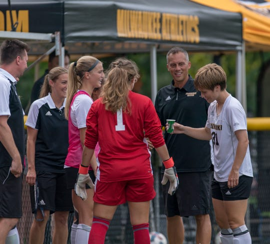 Troy Fabiano is in his fourth year as head coach of the UW-Milwaukee women's soccer team.