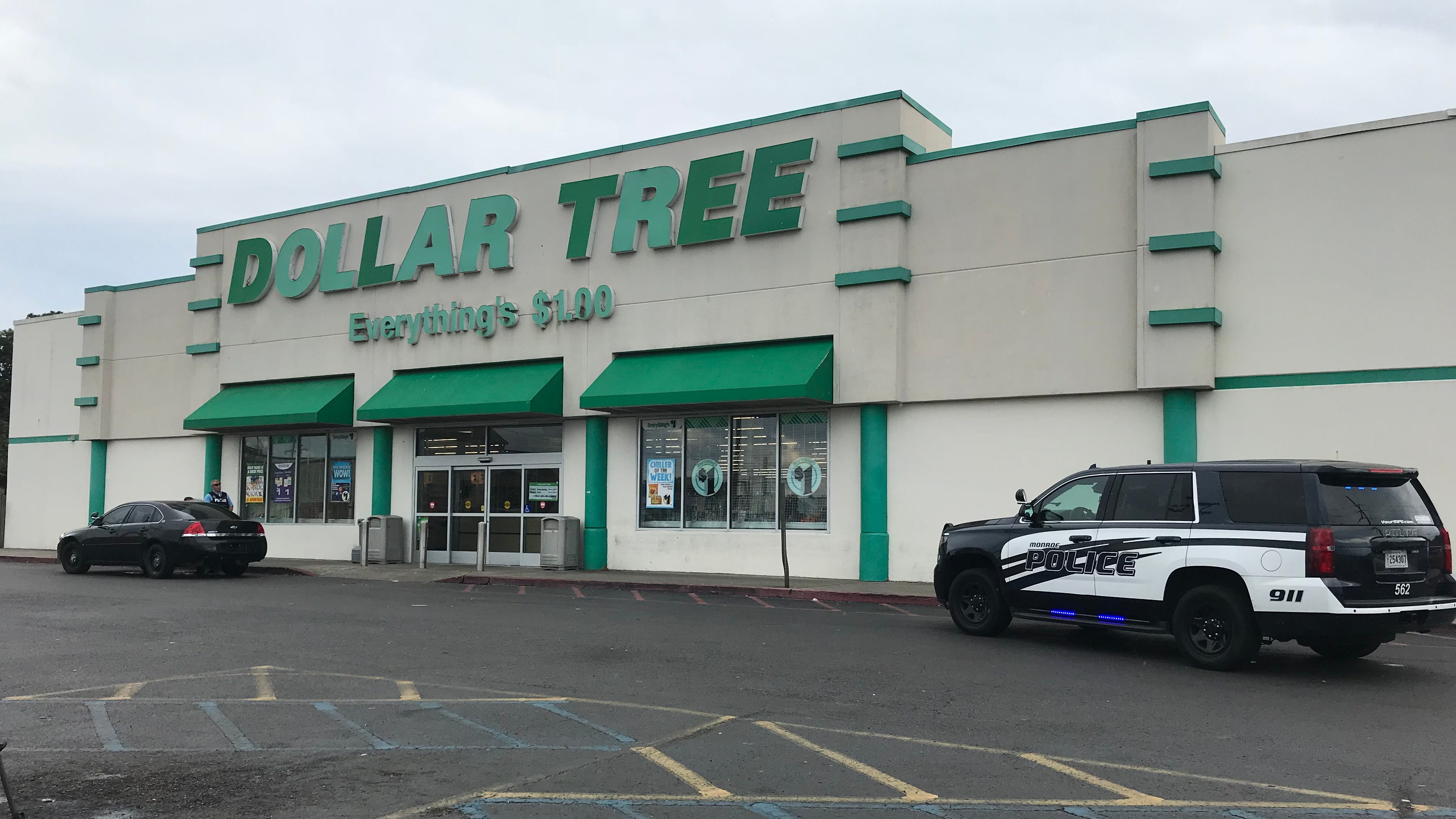 The Monroe Police Department is investigating a shooting at the Dollar Tree on Louisville Avenue.
