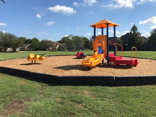 Playground dedication