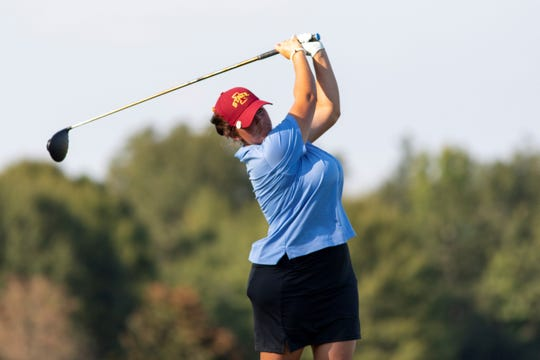 Kendall Dye trailed by two shots, but a 6-under-par 66 performance erased that deficit and helped her claim her fourth career Symetra Tour title and second this year.