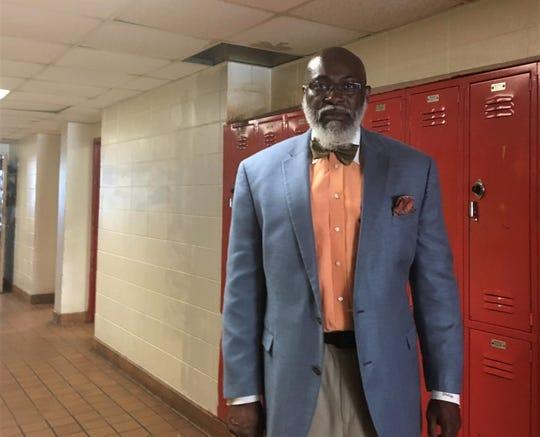 Lorenza Pharrams has been the principal of Robert E. Lee High School for 11 years.