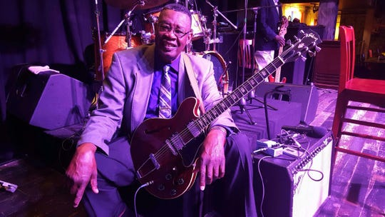 Montgomery blues artist Stanford Barnes is opening for Charlie Daniels on Saturday.