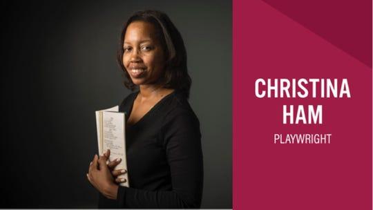 Playwright Christina Ham