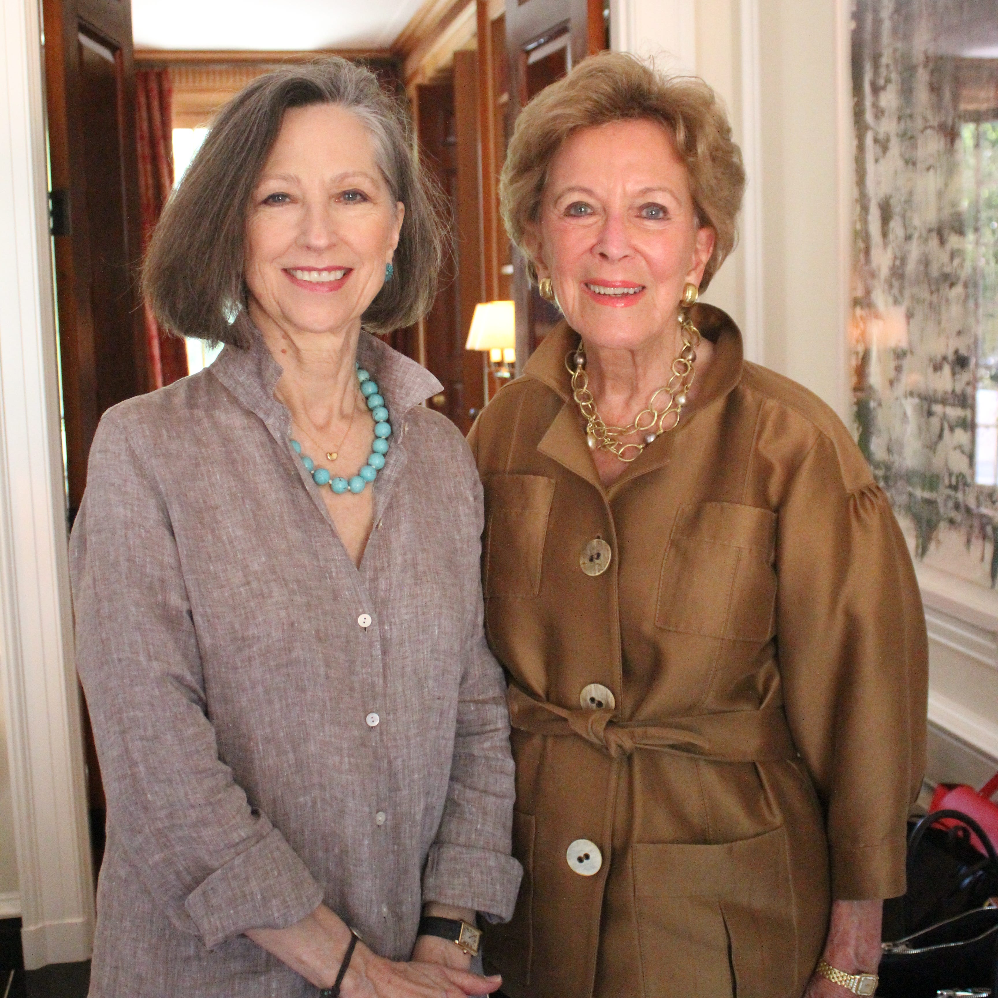 Susan Edwards and Martha Ingram attend the 2019 Frist Gala kickoff party.