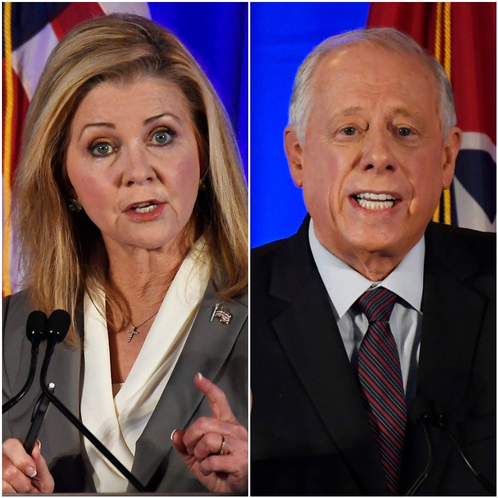 Marsha Blackburn, Phil Bredesen clash in fiery debate, the first in their US Senate battle
