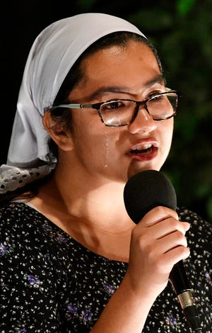 Cicela Hernandez was bullied. Then she became the bully. But it didn't relieve the pain of abuse she felt inside. It wasn't until a teacher stood up for her and asked if she was OK that she found the support and relief she needed. On Sept. 24, Hernandez told the story of her struggles with mental health issues at Nashville Storytellers, a live event that puts people in the community on stage to share personal experiences that help people better understand each other.