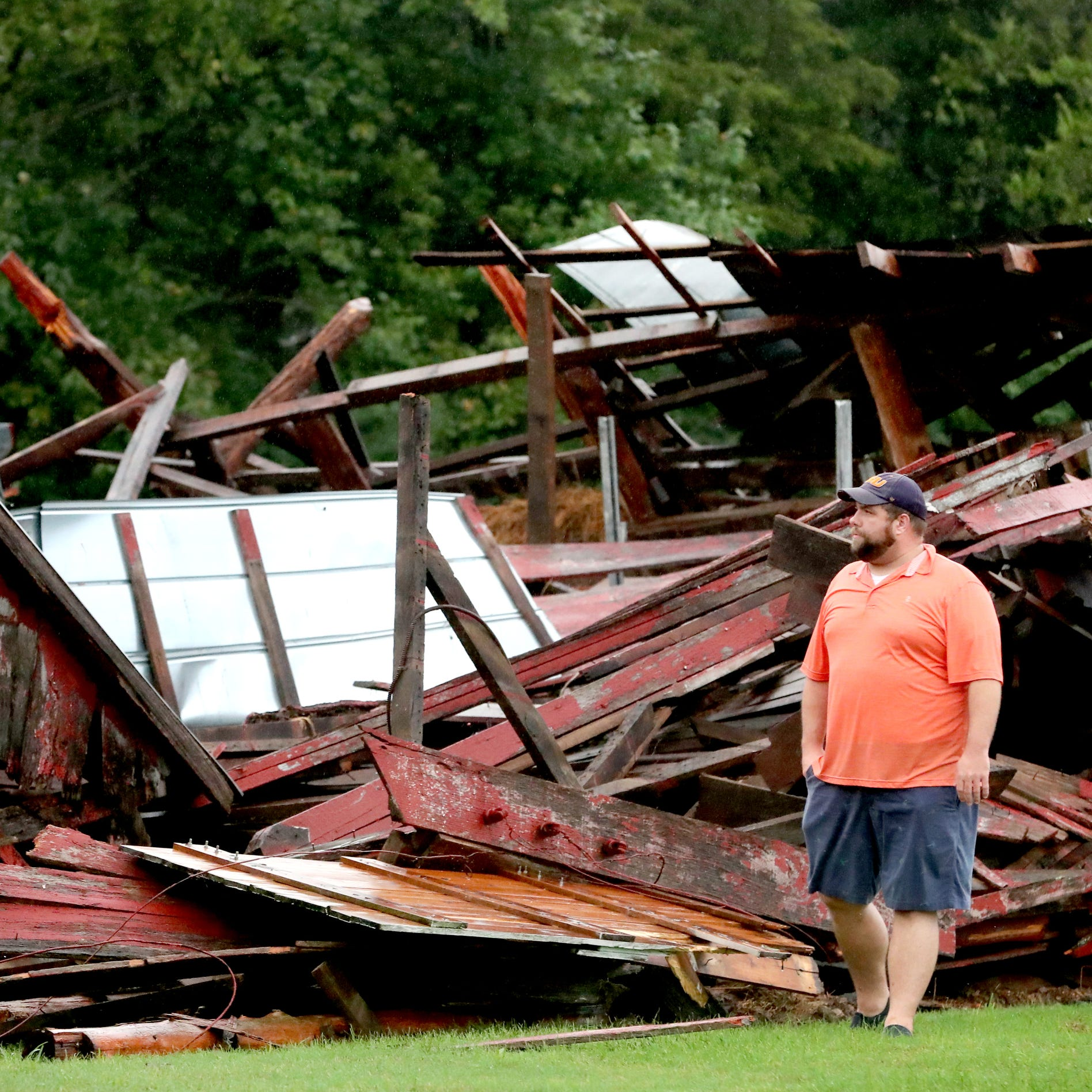 EF-0 tornado confirmed in Cannon County, National Weather Service says