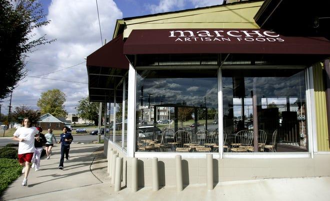 Marche Artisan Foods on Main Street in East Nashville.