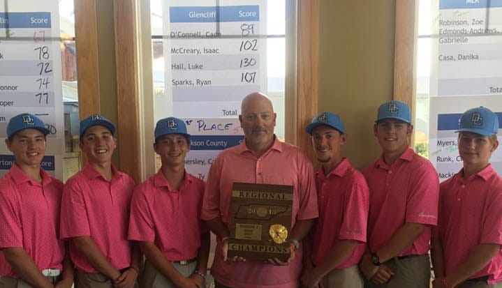 Dickson Co. Cougars competing for TN golf title starting today