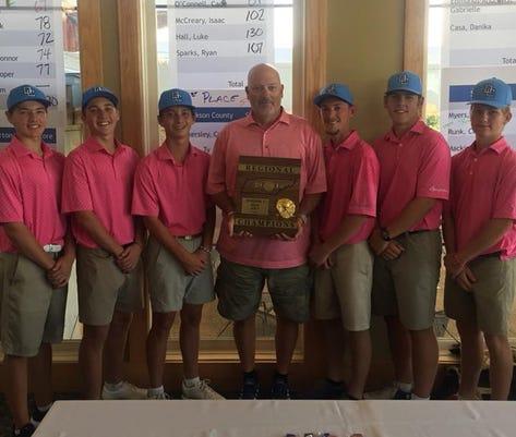 Golf Region Winners