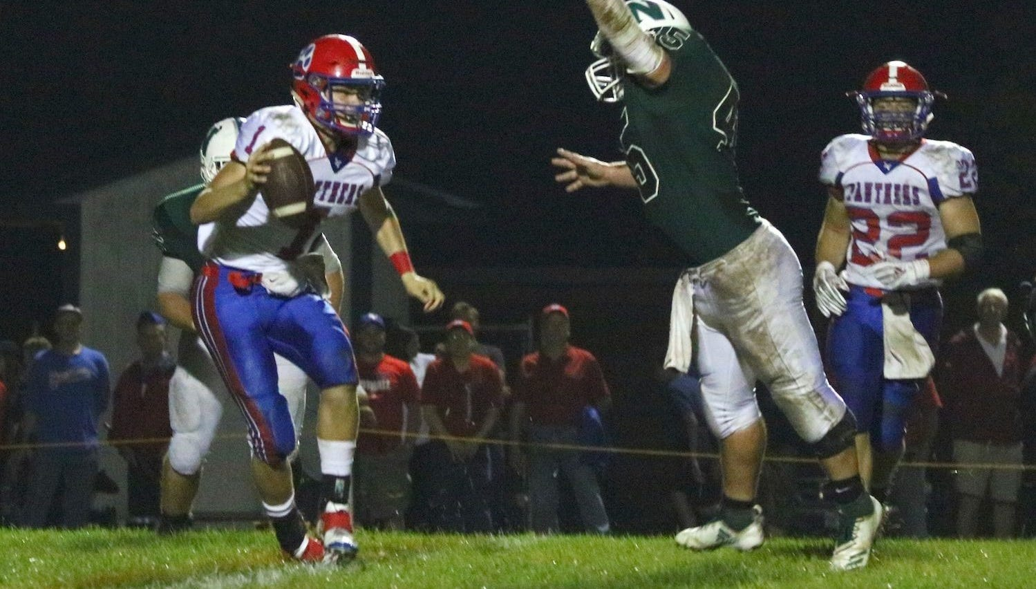Well-balanced Licking Valley starting to crank up passing game