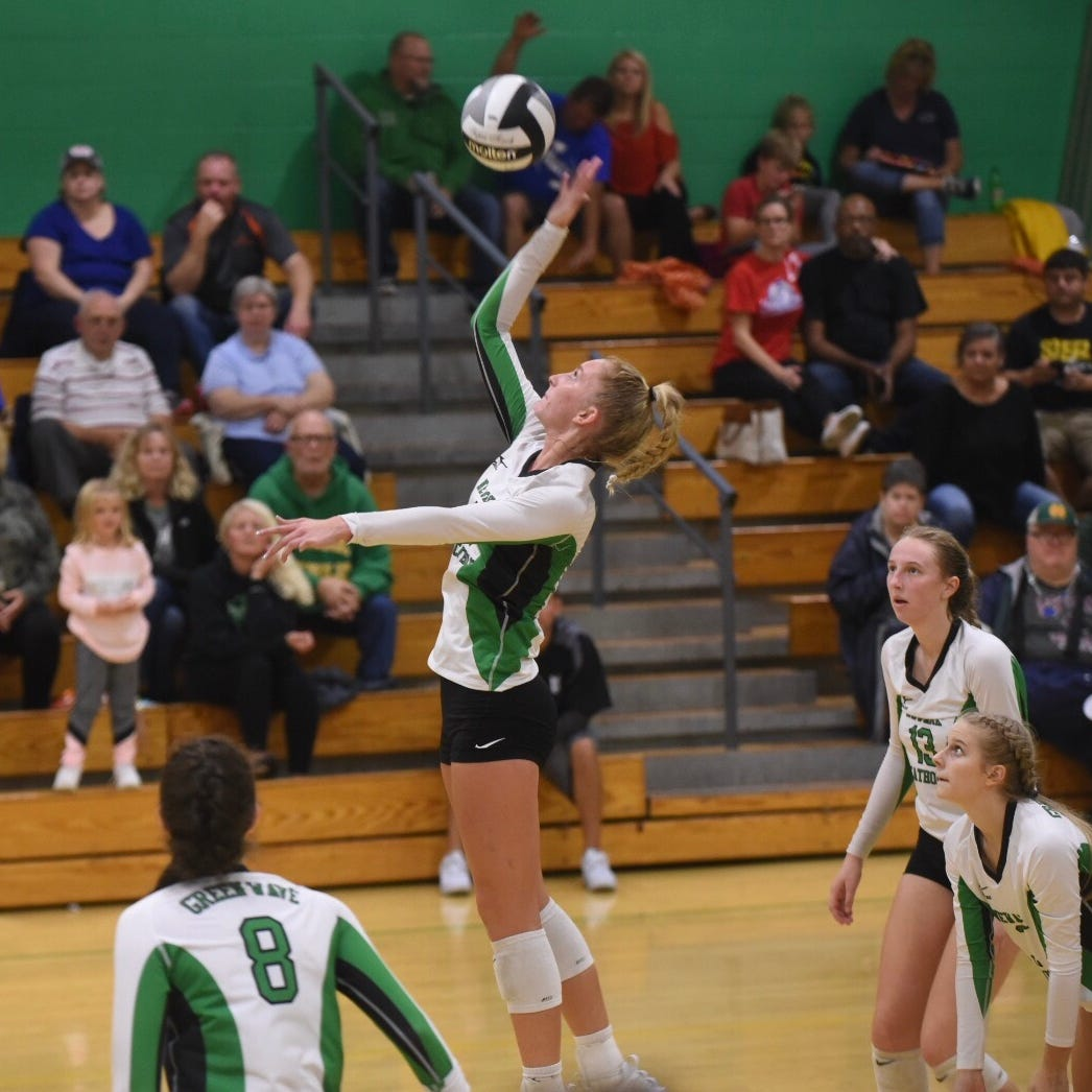 Roundup: Basham records 1,000th kill in Newark Catholic victory against Licking Valley