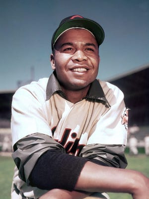 Baseball Hall of Famer and Cleveland Indians outfielder Larry Doby, the first African-Amereican player in the American League, was honored with the Congressional Gold Medal for his career and contributions to the civil rights movement.