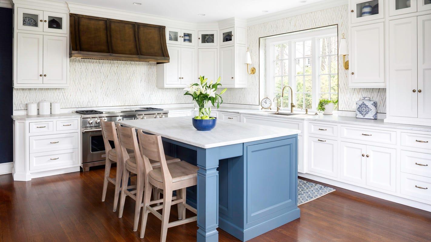 6 Bergen homes showcase the always por white kitchen trend on