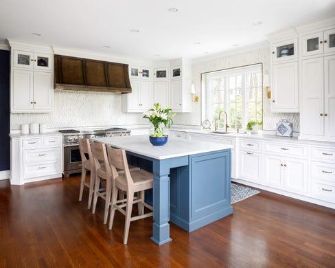 6 Bergen homes showcase the always por white kitchen trend on new orleans open kitchen design, greek revival kitchen design, new orleans style kitchen design,