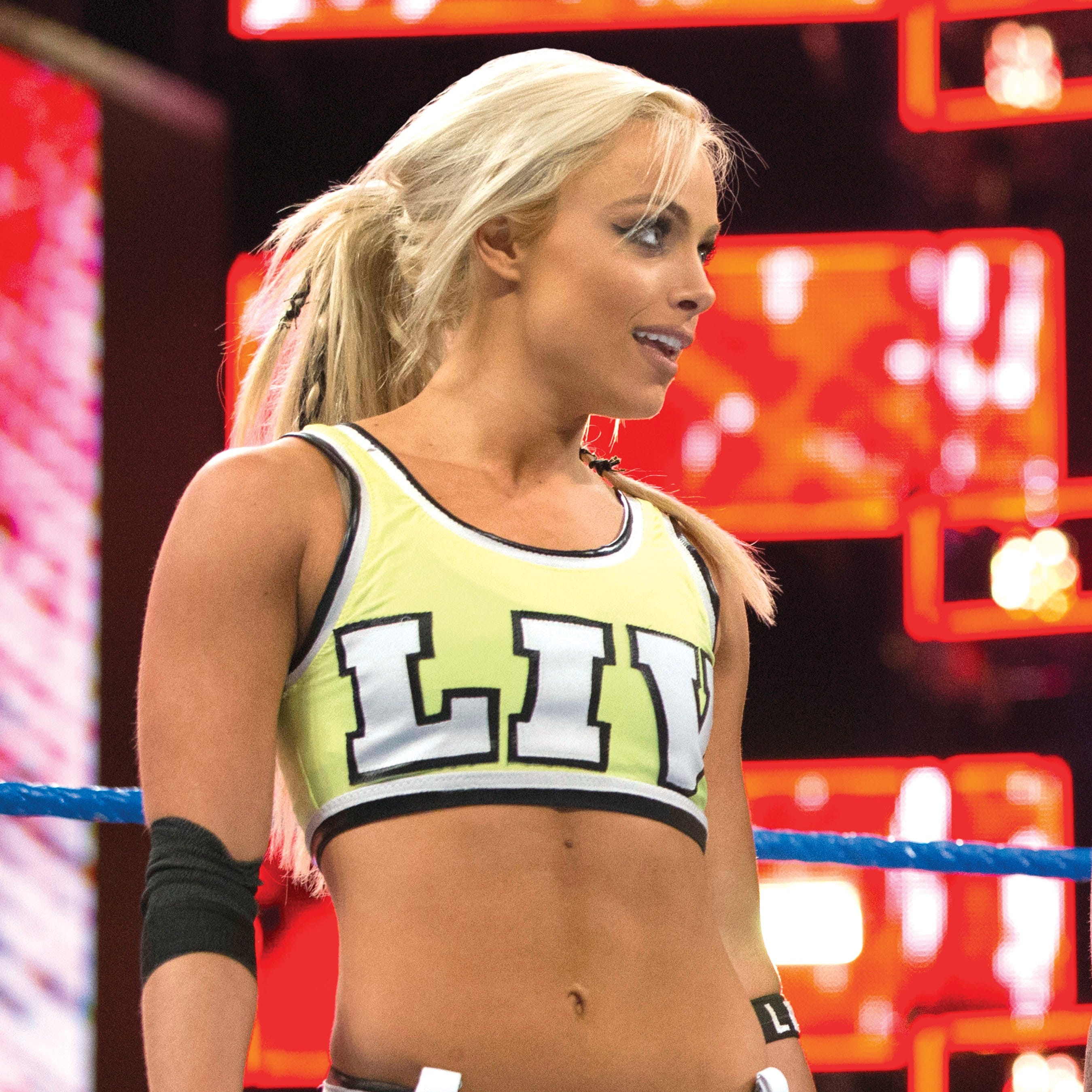 Bergen's Liv Morgan potentially injured by Brie Bella in Monday Night Raw match