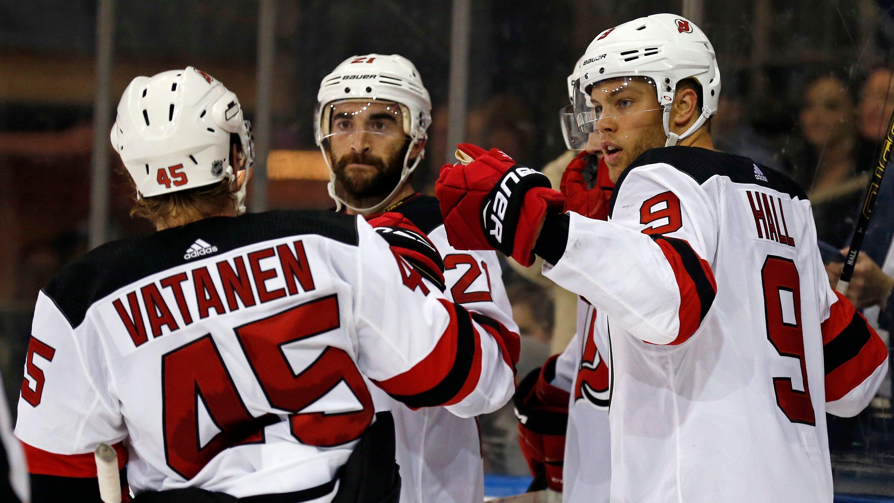 1806c1f3c What to watch for in NJ Devils' season-opener against Oilers