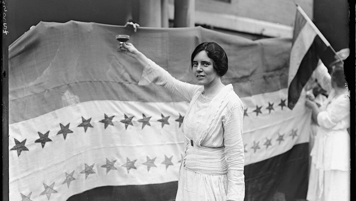 Recalling Alice Paul, and other heroes of NJ during Women's History Month | Asszony