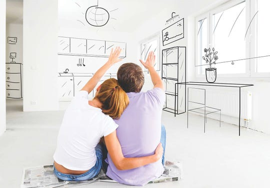 Create your own visions. Sometimes, your dream home won't have everything you are looking for right when you buy the home. Some people want a completely renovated house, an open floor plan, or a uniquely designated room that they can't afford. Be creative with your space to create your ideal living arrangements.