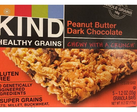 Breakfast bars, chewy and crunchy.