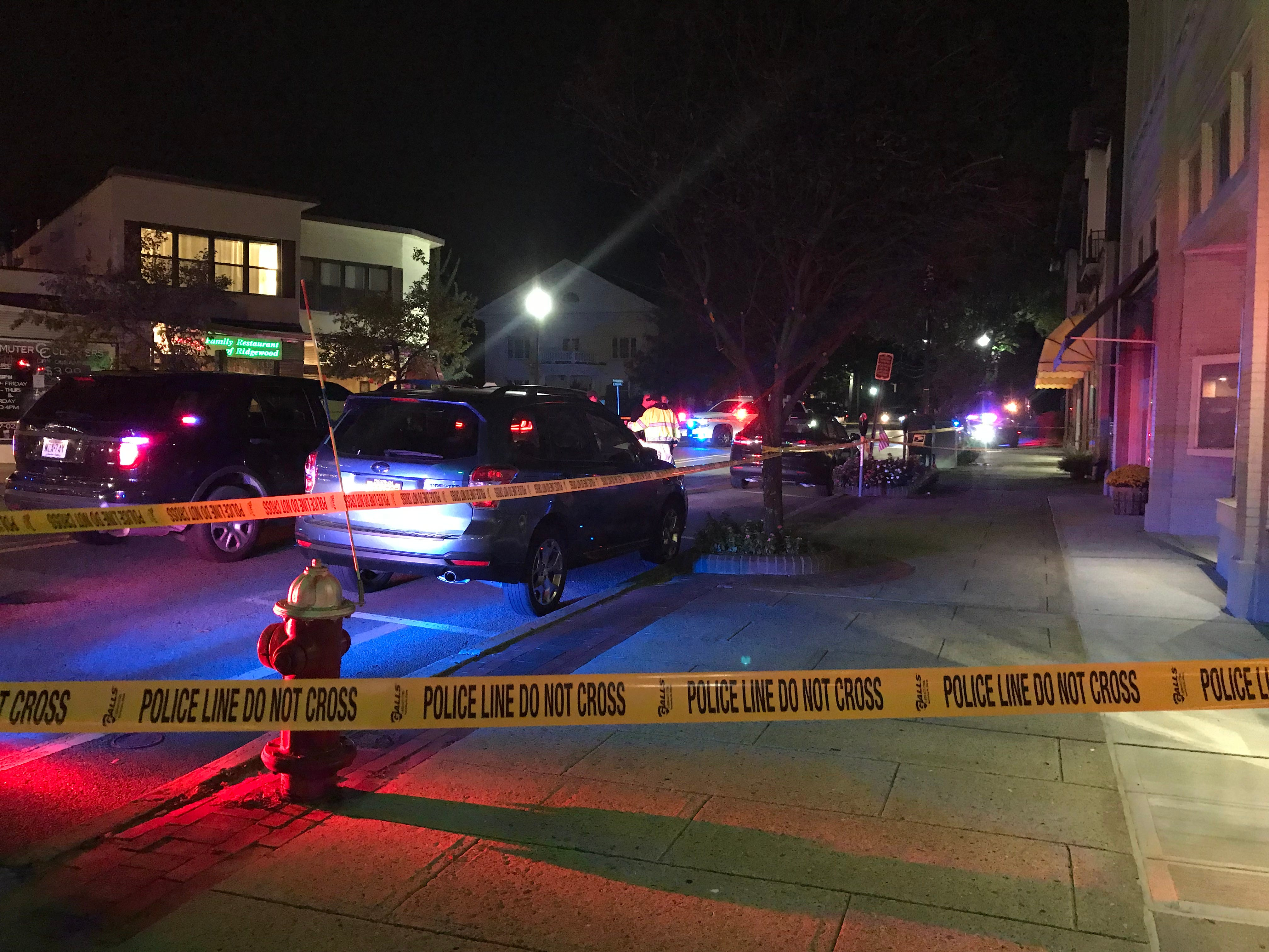 Police investigate at West Ridgewood Avenue after a pedestrian was struck Sept. 24, 2018.