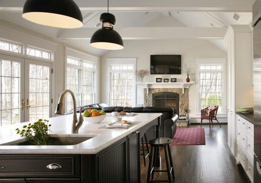 6 Bergen Homes Showcase The Always Popular White Kitchen Trend